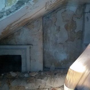 Plaster Repair Before